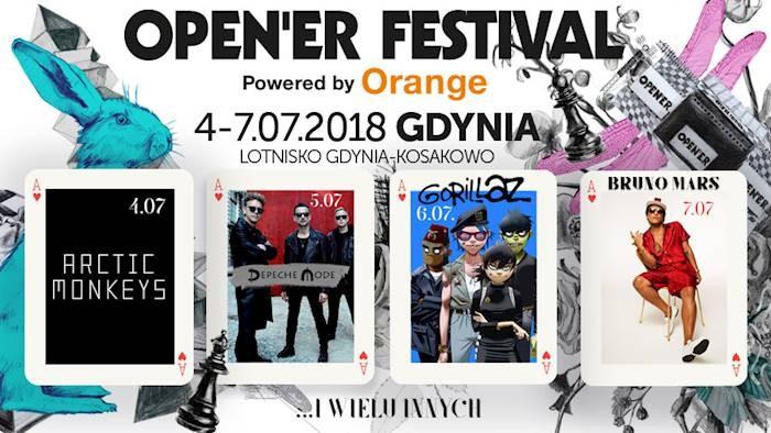 Open'er Festival 2018 Gdynia